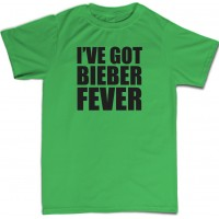 Ive got bieber fever Mens T-Shirt