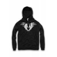 Graphic Design Tribal Print Hoodie