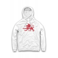 Graphic Design Welsh Lion Hoodie