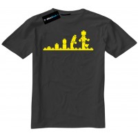 Evolution Of LEGO Funny Mens T-Shirt
