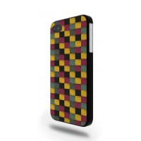 Yellow Squared Pattern I Phone  4/4s & 5 Phone Cover / Case MU-059